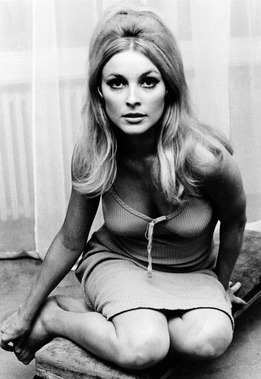 . Actress Sharon Tate is shown in 1965.  (AP Photo)
