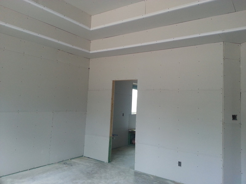 Master bedroom, entrance to master bath