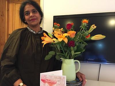 2017-10-Maitreyee's 50th Birthday