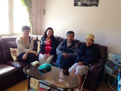3 hình - Thăm Thầy Lưu Văn Nguyên