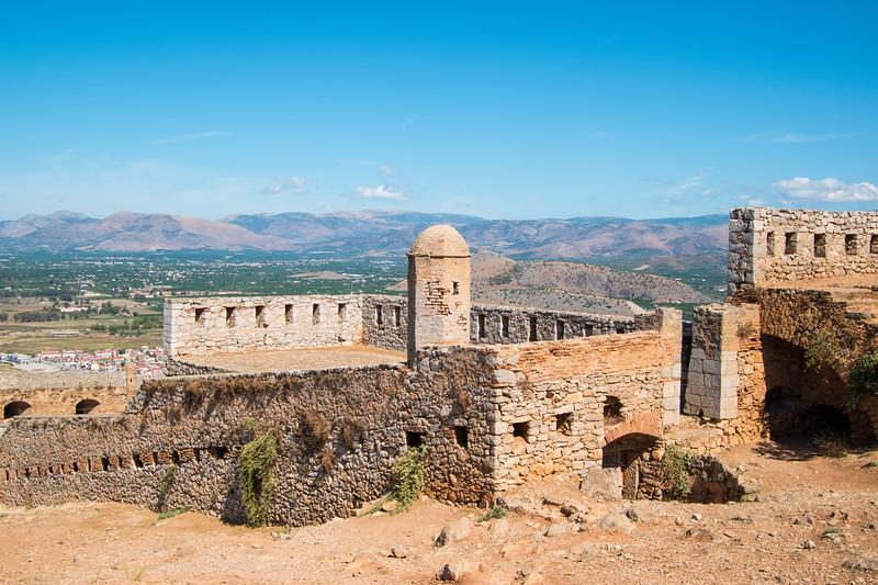Fortress of Palamidi Venician built