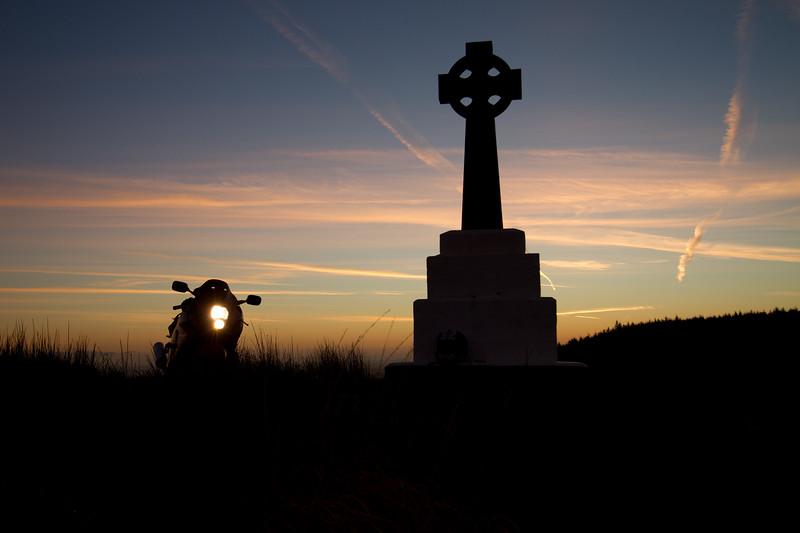 5. Cavan/Monaghan Penal Cross, mountain road, Bragan, 15K NW of Monaghan