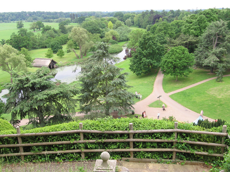View from the Mound-Warwick Castle