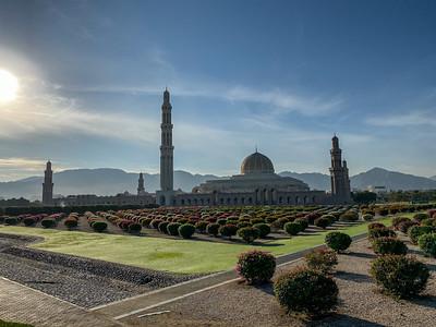 Oman Sultan Qaboos Grand Mosque