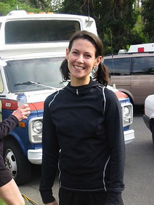 2003 Times-Colonist 10K - Jill Hawe seems pleased with her run