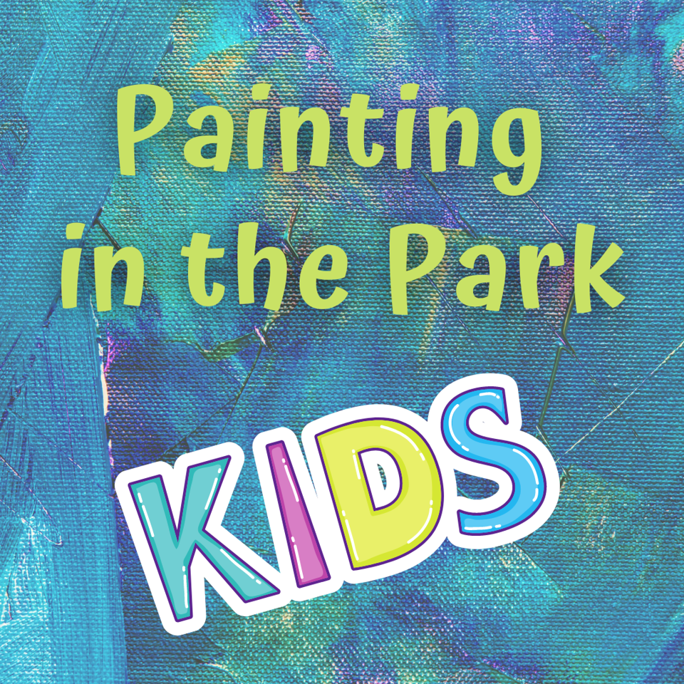 Painting in the Park for Kids
