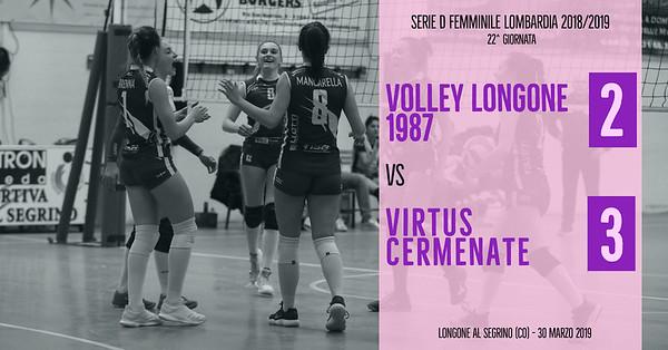 LOM-Df: 22^ Volley Longone 1987 - Virtus Cermenate