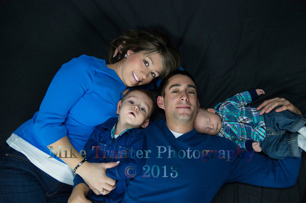 Bryson Newborn and Family Portrait 2013