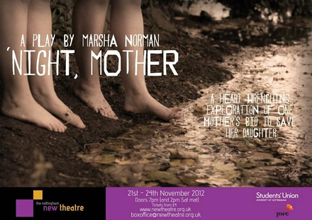 'night, Mother poster