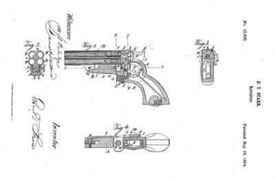 42,698 Improvement in Repeating Fire-Arms