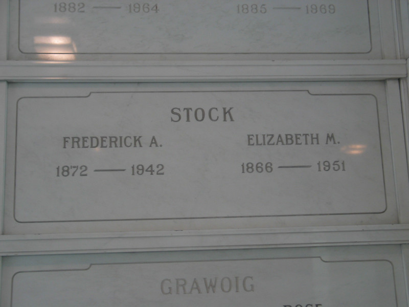 Frederick A. Stock