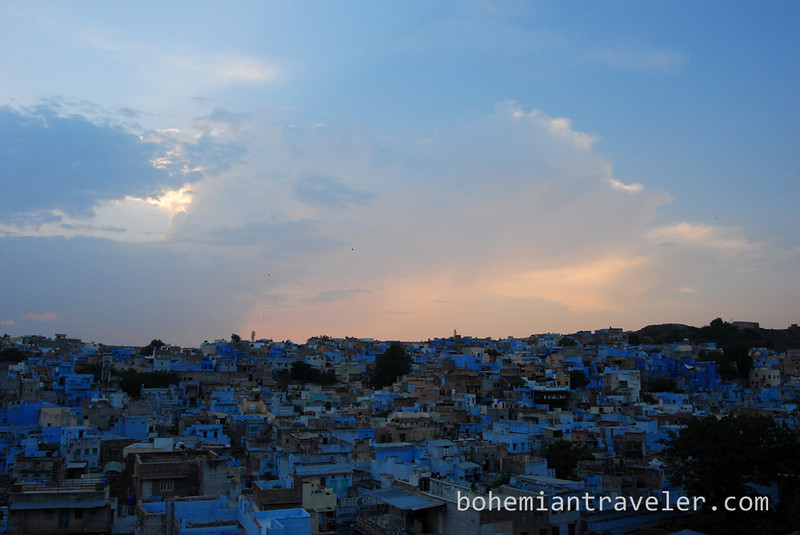 View of the Blue City of Jodhpur at dusk (2).jpg