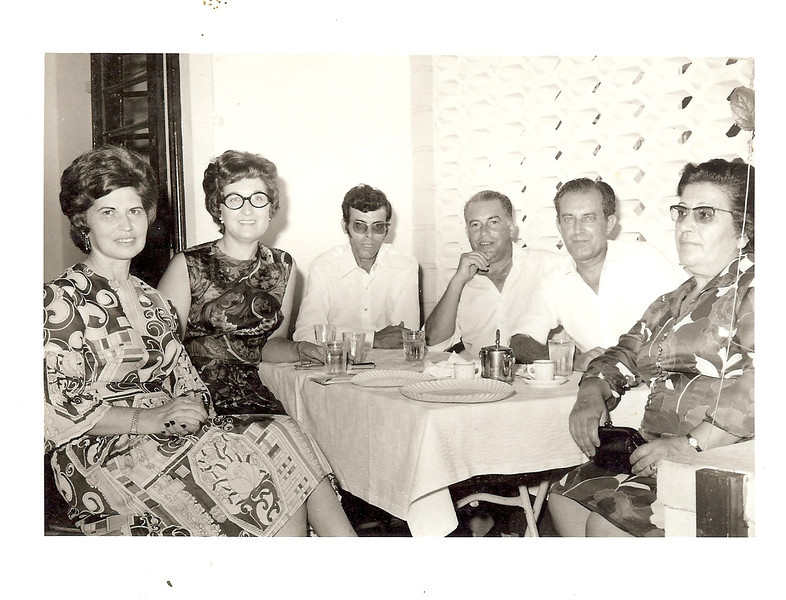 Nercinia Peleja, Teresa Adalberto, Neto?, Adalberto e casal Rui Inacio