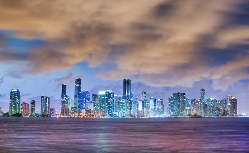 Miami at Dusk