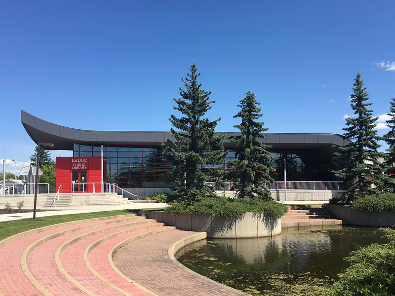 Leduc Public Library - exterior