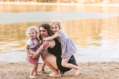 Cass & the girls
