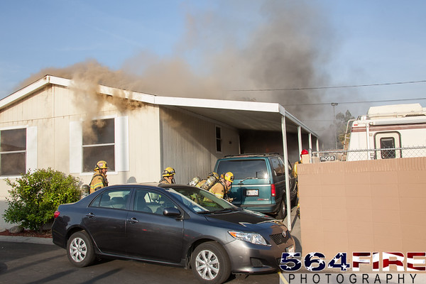 BDC - Structure Fire - 4-3-13 - Hill Fire