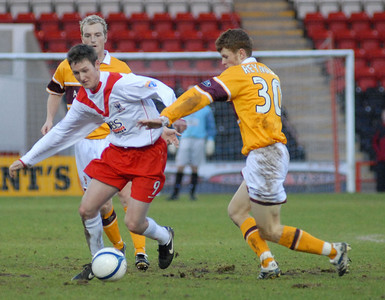 Airdrie v Motherwell 6 1 07