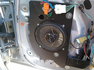1995 Lexus SC400 Front Door Speaker Installation - USA