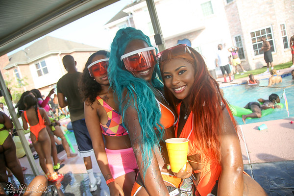 TheMelaninTrio Pool Party