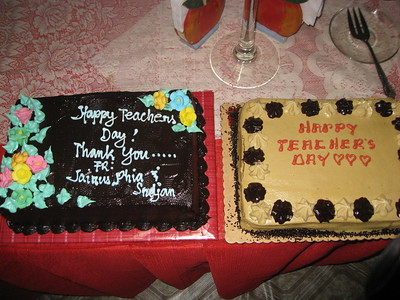 Teachers' Day Celebration 2011-2012