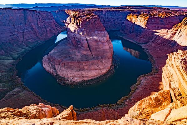 Arizona ~ Page ~ Antelope Canyon ~ Horseshoe Canyon