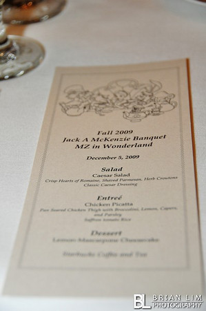 Mu Zeta Fall 09 JAM Pledge Class Activation Banquet 12.5.09