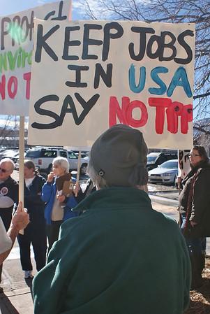 TPP/FastTrack Protest-Boulder-1/24/14