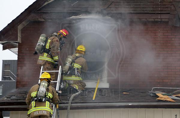 Oshawa, ON - Fatal Working Fire - 116 Centre St N - January 8, 2018