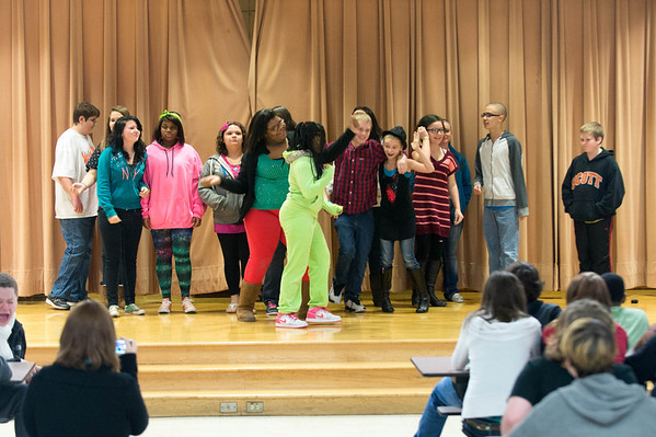 FUSION  Performs at Sarah Scott Middle School