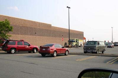 Orange County Mall Mulch Pile Fire - May 25, 2007