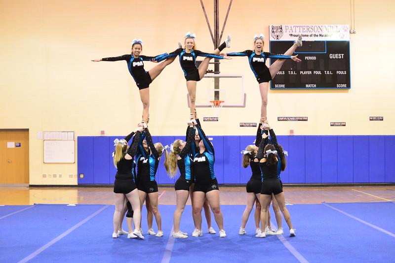 Cheer Practice - January