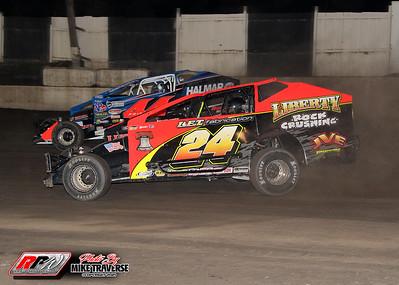 Orange County Fair Speedway - 8/21/21 - Mike Traverse