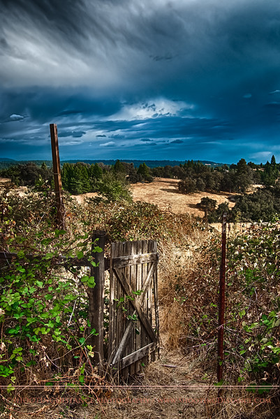 gateway to the gold country, near Volcano, CA
