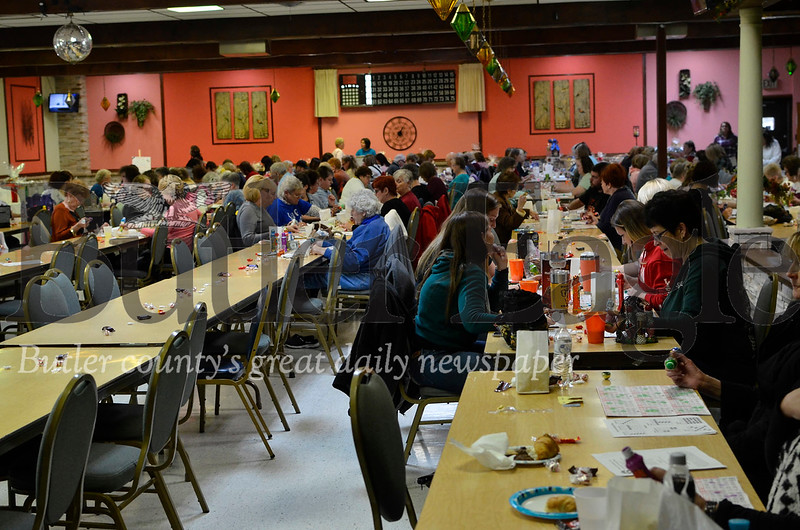 About 150 people attended Paw Print Basket Bingo on Saturday.  Tanner Cole/Butler Eagle