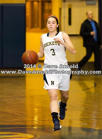 2/11/2014 - Girls Varsity Basketball - Needham