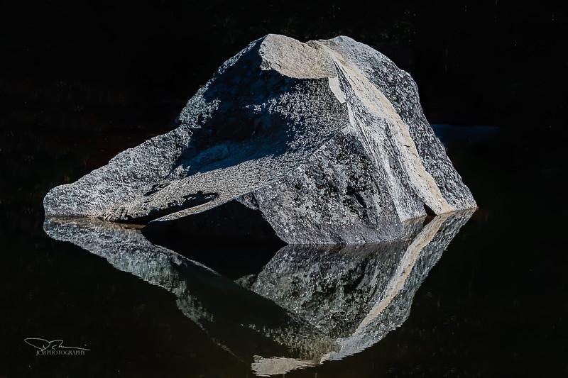 Mirror Lake rock