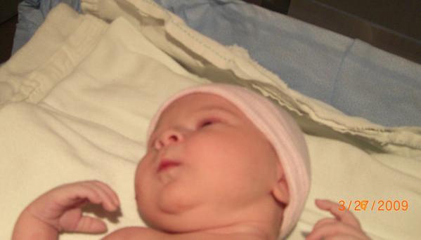 New Baby  Girl 2009