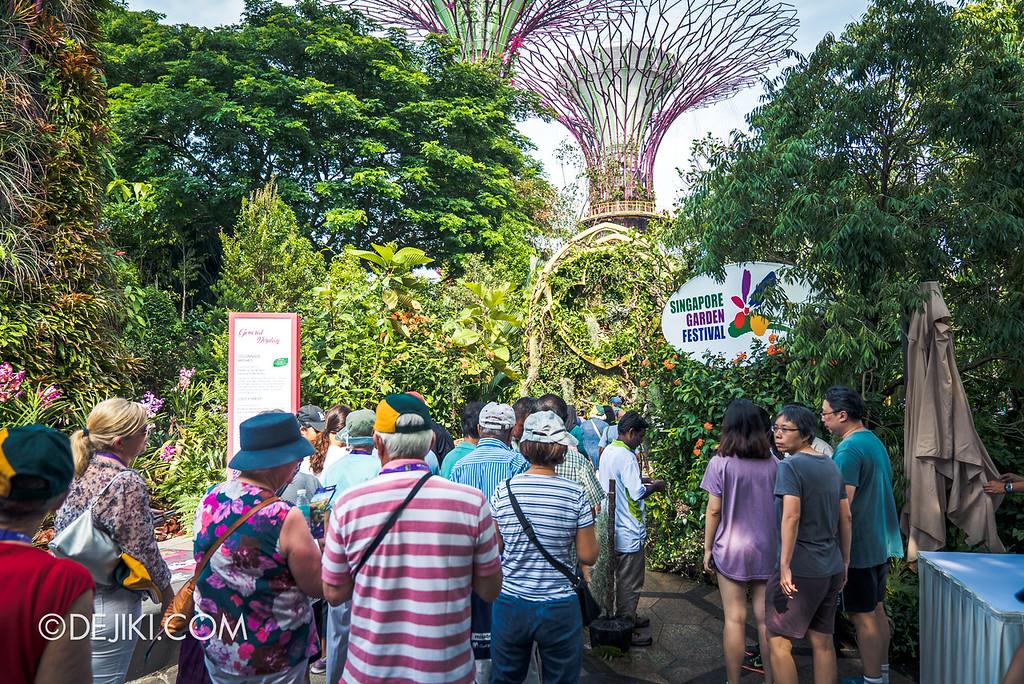Singapore Garden Festival 2018 - Supertree Grove entrance