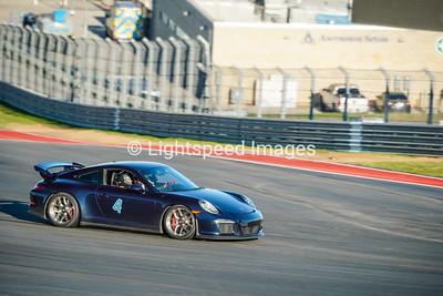 #4 Dark Blue Porsche 911 GT3