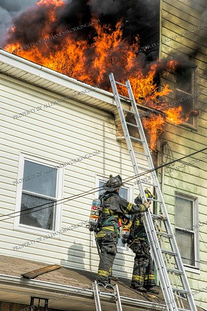 3 Alarm Dwelling Fire - 623 Franklin Ave, Elizabeth, NJ - 4/8/19