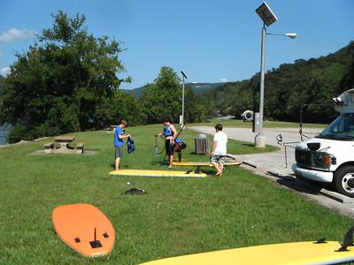 Fall Paddleboarding