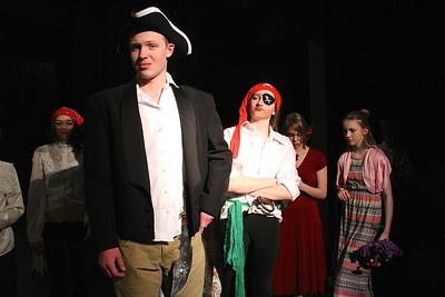 Pirates of Penzance Rehearsal II photos by Gary Baker