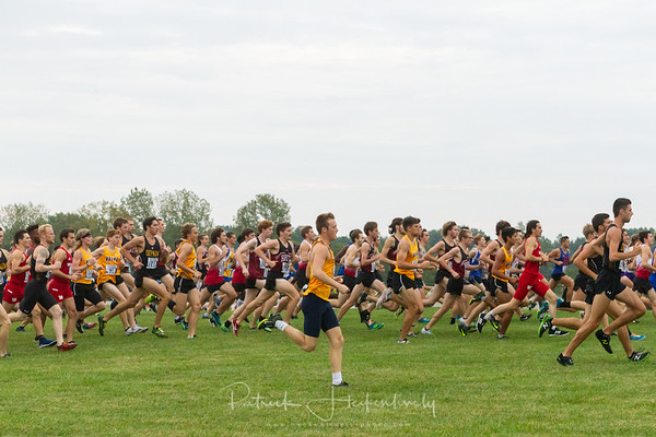 2019-09-21 Rose-Hulman Cross Country at Home