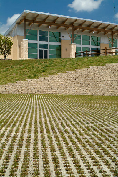 Cedar Hill Recreation Center. Client (& Landscape Architect):  Halff Associates, Dallas.