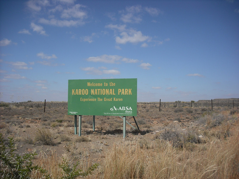And on the last day we visited Karoo National Park.  It has a lot of wildlife, which is incredible because it's in the middle of a desert.