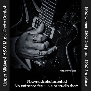 Upper Midwest B&W Music Photo Contest