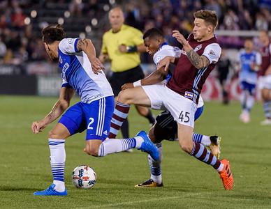 Colorado Rapids vs FC Dallas - MLS Soccer - 2017-10-07