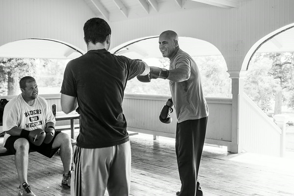 8-30-14 Sparring