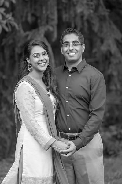 Sagar & Iti: Engaged
